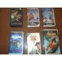 Lote De 6 Videos Infantiles Disney: Tarzan,toy Story, Nemo