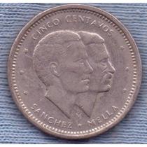 Republica Dominicana 5 Centavos 1984 * Derechos Humanos *