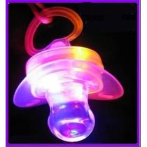 12 Silbatos Chupetes Luminosos Cotillon Luminoso