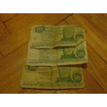 Lote De 3 Billetes De 500 Pesos Ley