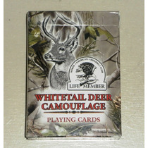 Naipes De Poker Whitetail Deer Camouflage