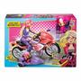 Moto Barbie Escuadronsecreto 2016- Perrito Sidecar No Muñeca