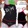 Depeche Mode Rock Conjunto Dama Musculosa Vedetina Oferta