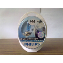 Kit Lamparas Crystal Vision Ultra Philips H4/h1//h3