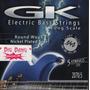 Encordado Gk Para Bajo 5 Cuerdas .040 Nickel Plated Steel