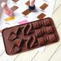 Molde Silicona Bombon Chocolate 2x1