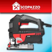 Sierra Caladora De Mano Skil 4550 550 W + Set 10 Hojas Bosch