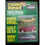 Road Test 71 9/96 Ford Fiesta Diesel Volkswagen Golf Gl 1.8