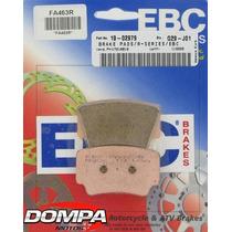Pastilla De Freno Trasera Ebc Fa 463 R Ktm Sx Xc Atv Dompa