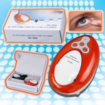 Limpiador Ultrasonido Lentes De Contacto Desinfecta Su Lente