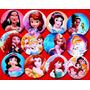 12 Pines Prendedores Princesas, Sofía, Blancanieves - Disney