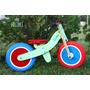 Bicicleta De Madera Sin Pedales Cuau Rodado 12 - 2 A 5 Años