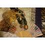 Peineton, Mantilla, Abanico Y Collar Para Dama Antigua