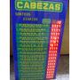 Cartel Cabezas Quiniela Electronico -congreso