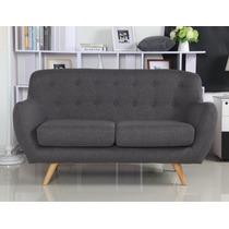 Sillon Sofa Retro Vintage Linea Escandinava Modelo Asgar