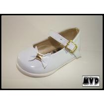 Zapato Bautismo/comunión/fiesta - Bebe-niño Blanco