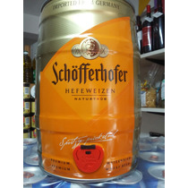Barril Cerveza 5l Schofferhofer Importada Alemania Caballito