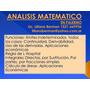 Matematica- Estadistica- Prob. Física Química En Palermo