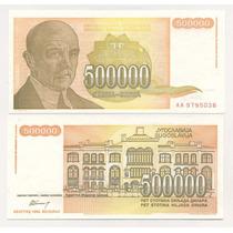 Yugoslavia Billete 500.000 Dinara Año 1994 Sin Circular