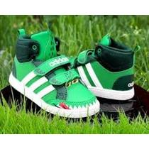 Zapatillas Adidas Neo Hoops Animal Mid Bebés Talle 27