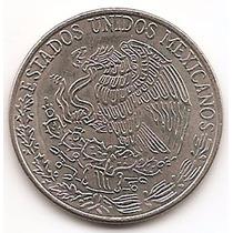 México Moneda De 50 Centavos Año1981 Km 452 Cupro Niquel #