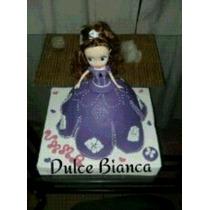 Princesa Sofia Torta 3d