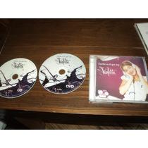 Violeta Cantar Es Lo Que Soy Cd + Dvd Szw