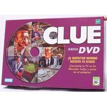 Juego Mesa Clue Dvd Hasbro Original - Jugueteria Aplausos