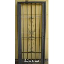 Puerta Reja Premium Colony Segurida Puertas De Frente 90x200