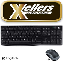 Kit Teclado Y Mouse Multimedia Logitech Mk270 Inalámbrico