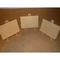 Mini Atriles De Fibrofacil 10x15, El Pack (10 Unidades )