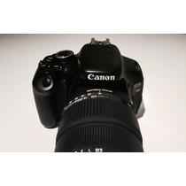 Maquina De Fotos Perfecta Usada! Canon Eos T3i 6500 Pesos
