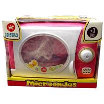 Microondas Calesita De Juguete - Minijuegosnet
