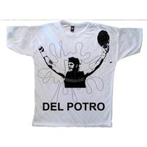 Remera Tenis - Del Potro