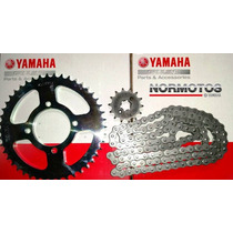 Kit De Transmision Yamaha New Crypton T110 Original Normotos