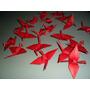 10 Aves De 15 Cm Adorno Origami Papel Regalo Dia Amigo