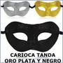 Cotillón Carioca Tanda Oro Plata Negro P/60 Personas!!!