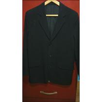 Saco Vestir Blazer Traje - Color Negro