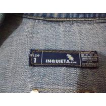 Blazer ,size 1,marca Inquieta Jeans.