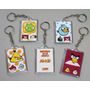 Frozen Angry Birds 40 Llaveros Mascotas Surtido Dedicatoria