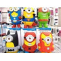 Parlante Portatil Minion Super Heroes Bluetooth Fm-msd-usb