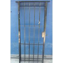 Puerta Reja Hierro Del 12 Con Cerradura Para Puerta De 80