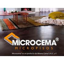 Microcemento Piso Cemento Alisado Micropiso Kit Con Laca 10m