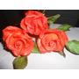 Flores De Azucar Rosas