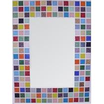 Espejo 40 X 30cm. Marco De Venecitas Diseño/decoracion