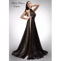 Delicado Vestido De Gala Sirena De Encaje Y Gasa Moda Pasión