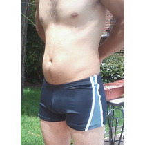 Malla Short Baño Toda Forrada Lycra Anticloro 2014 C/cordon