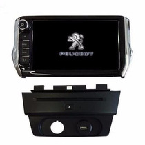 Stereo Dvd Multimedia Peugeot 208 Gps 3d Tv Camara Bt Usb