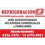 Refrigeracion C. J.