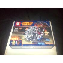 Star Wars Semil/c/ Lego Nave En Caja Guerra D Las Galaxias